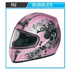 Casco Nolan-Grex R2 Bubbles Pearl Pink